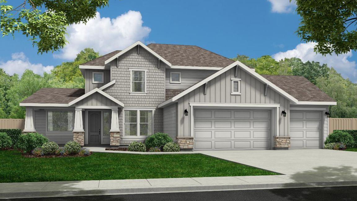 Ready To Build Home In Meadows at West Highlands - Woodland Community