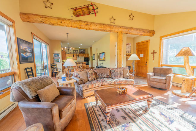 1870 SqFt Townhouse In Villas At Mount Crested Butte
