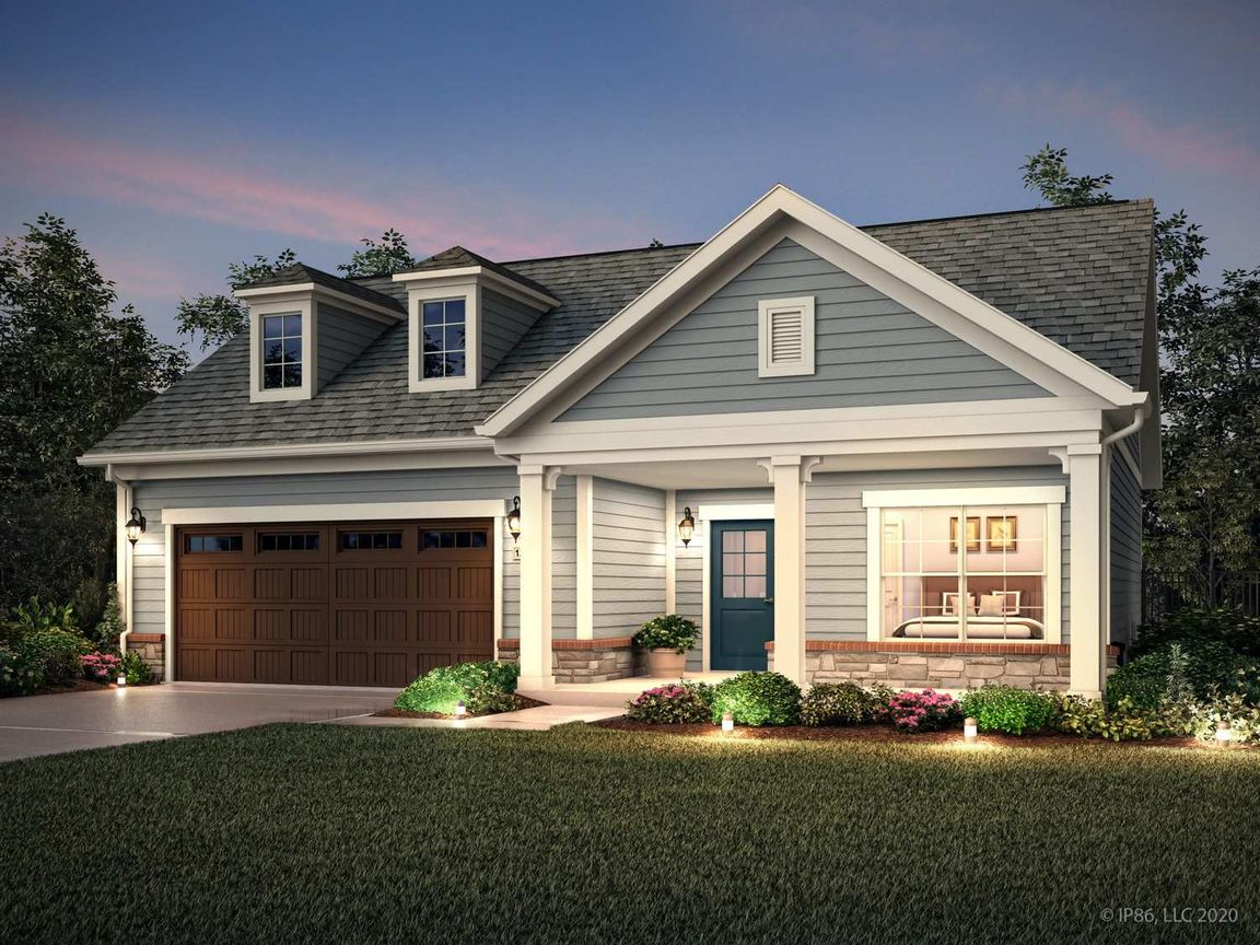 Ready To Build Home In The Courtyards on Chestnut Lane Community