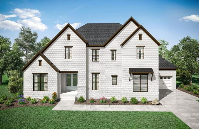 Ready To Build Home In Littlebury Community