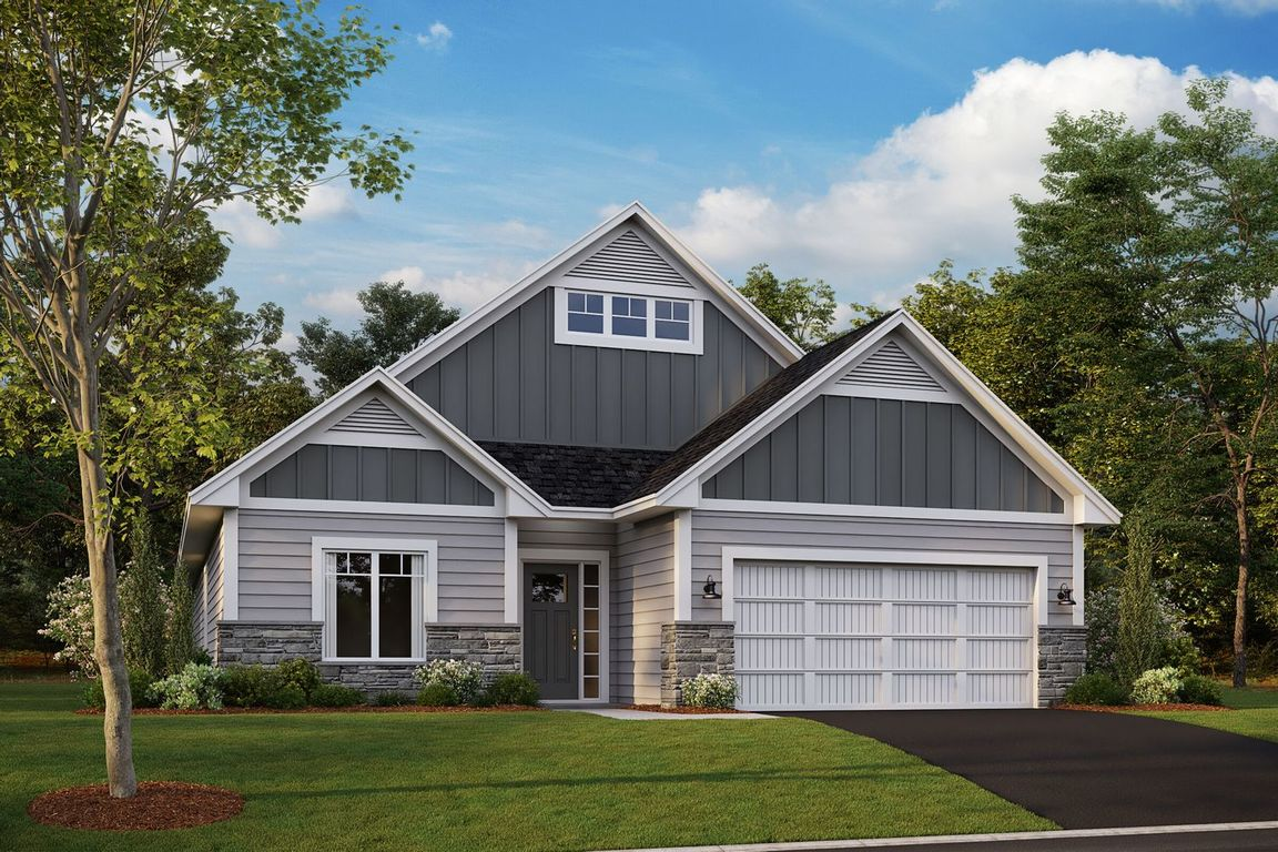 Ready To Build Home In Bailey Meadows Community