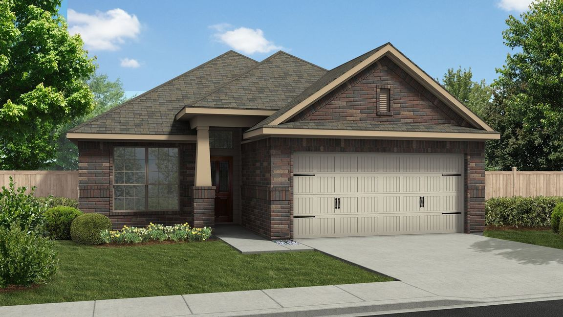 Move In Ready New Home In Alamosa Springs Community