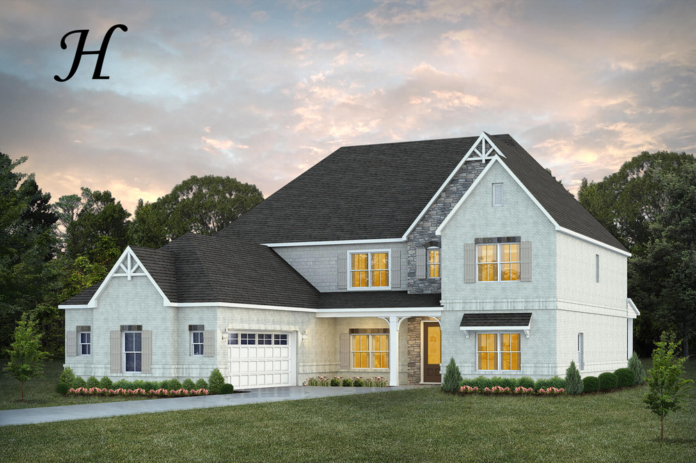 Ready To Build Home In Whitaker Landing Community