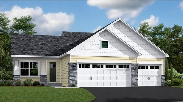 Move In Ready New Home In Fieldstone Passage - Heritage Collection Community