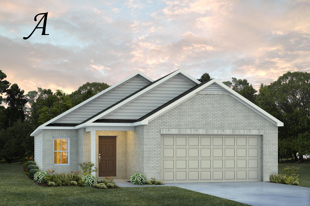 Ready To Build Home In Chase Ridge Community