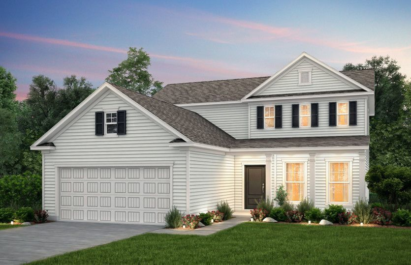 Move In Ready New Home In Heritage Preserve Community