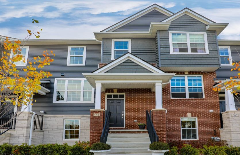 Move In Ready New Home In Townes at Mill Street Community