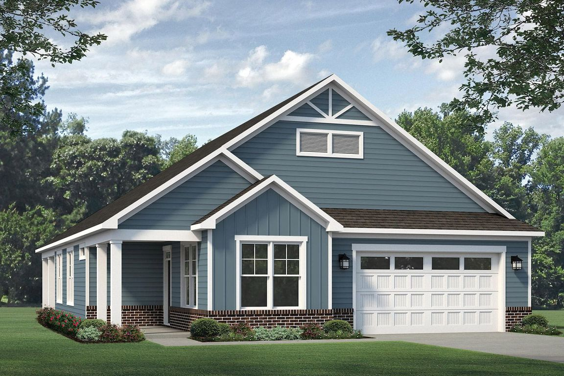 Move In Ready New Home In Evergreen At Flowers Plantation Community