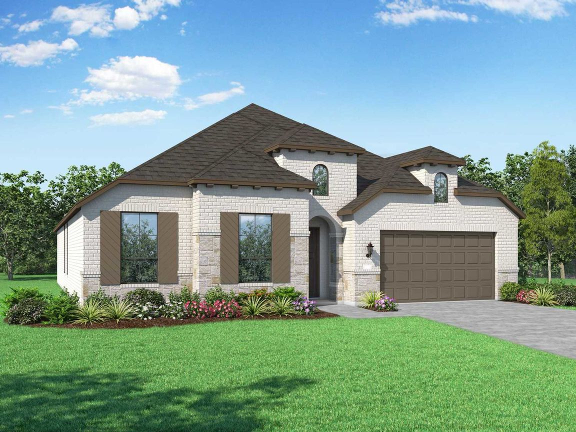 Move In Ready New Home In Gateway Parks: 60ft. lots Community