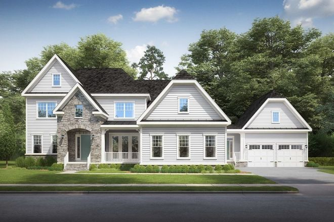 Ready To Build Home In Hartland Community