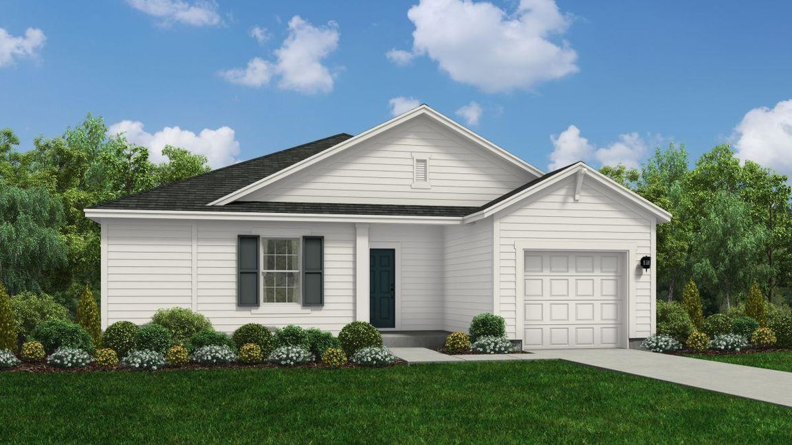 Ready To Build Home In Maxwell Ridge Community