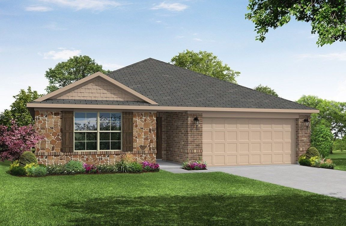 Move In Ready New Home In Wildcat Ranch Community