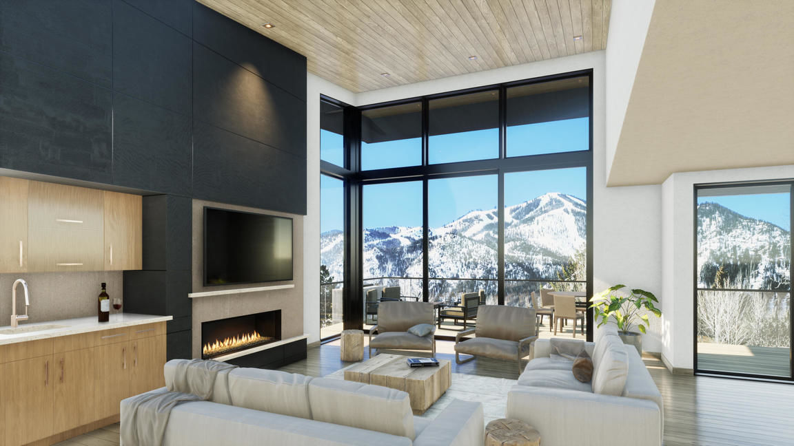 3581 SqFt Townhouse In Ketchum