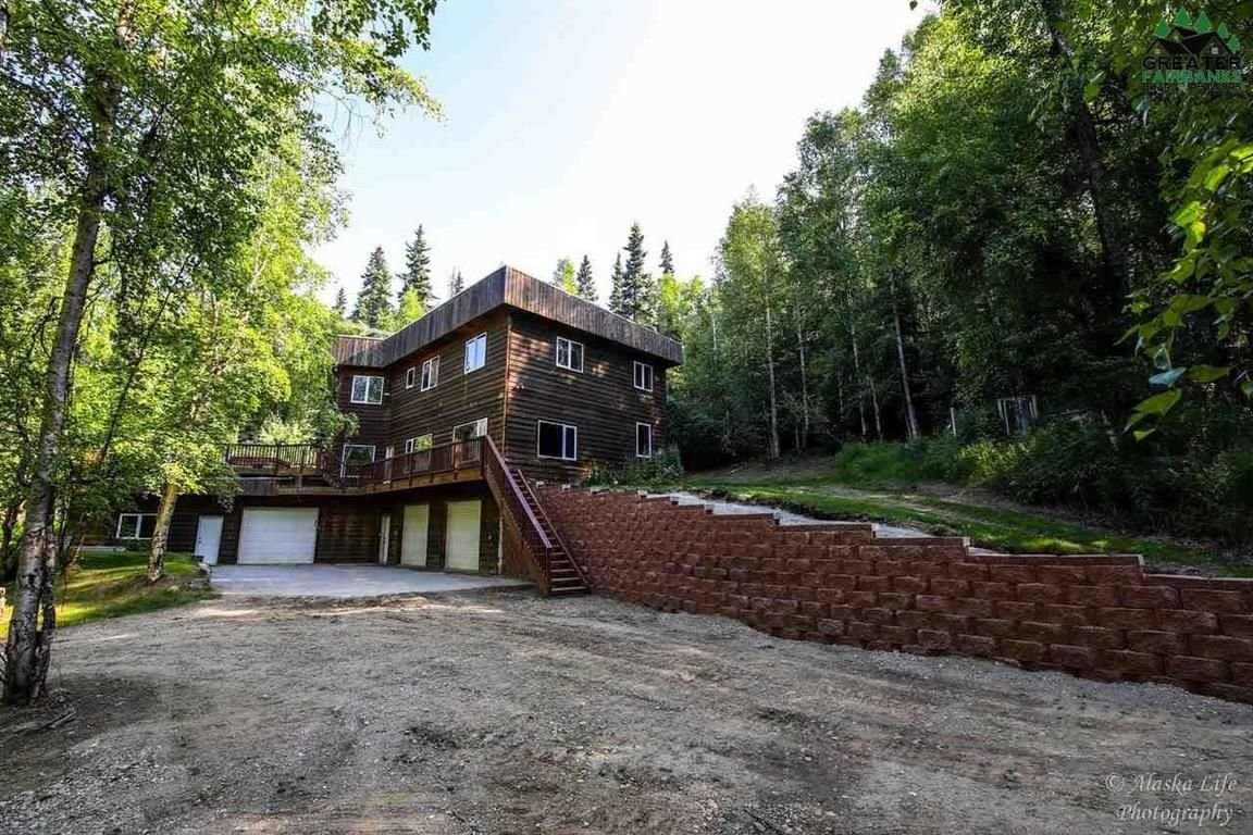 House In Chena Hot Springs Hills