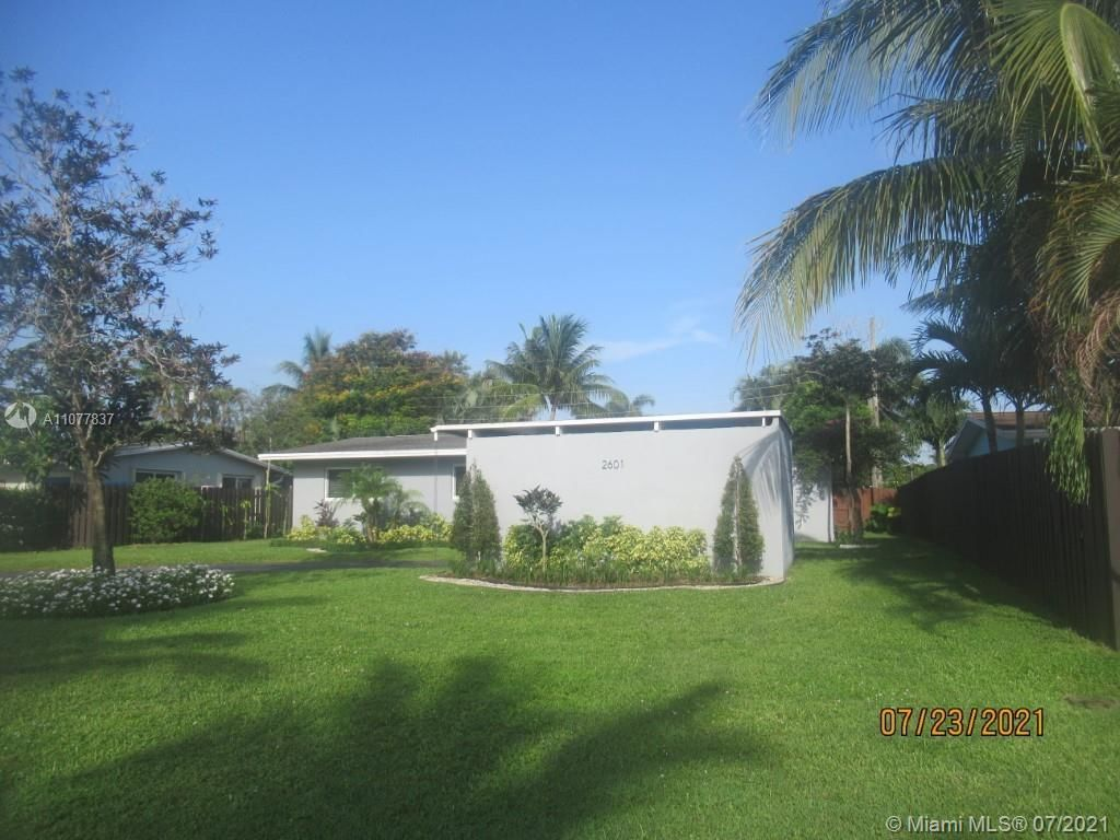1-Story House In Wilton Manors