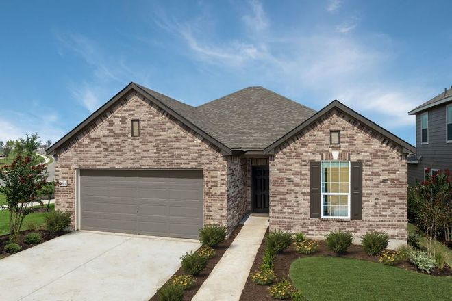 Ready To Build Home In McKinney Crossing Community