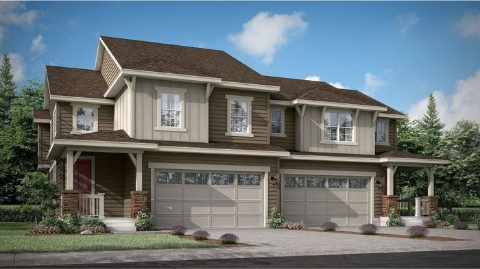 Move In Ready New Home In Buffalo Highlands - Paired Homes Community