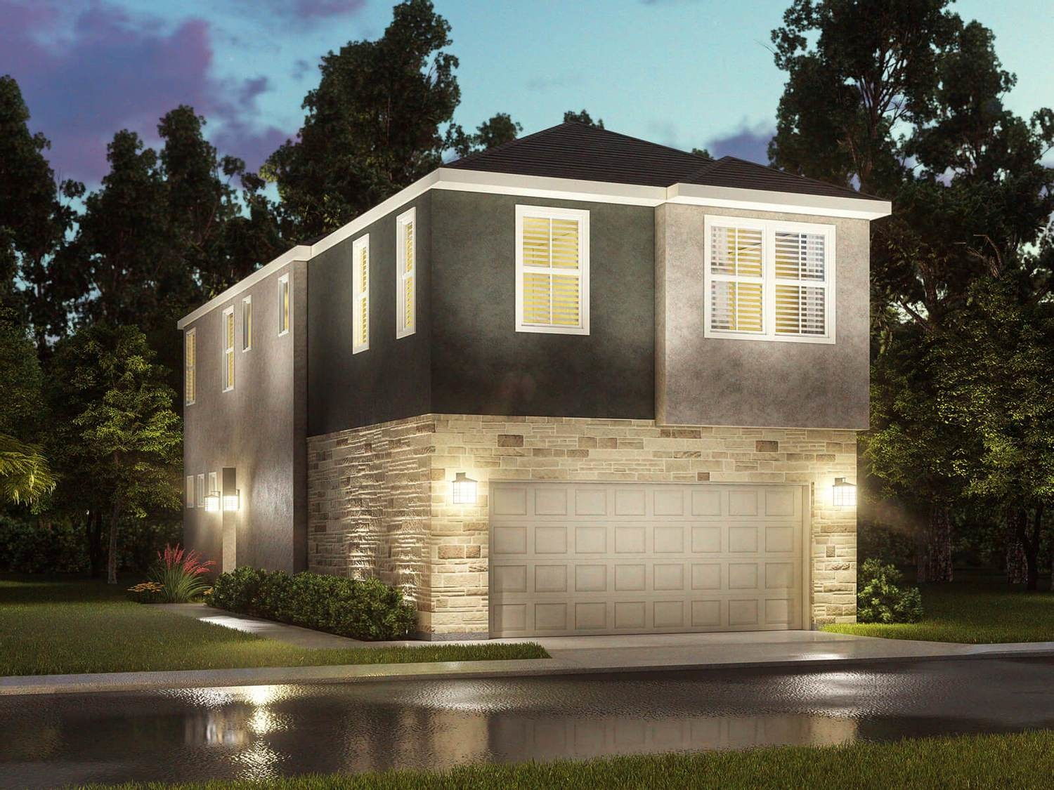 Move In Ready New Home In Park Row Village Community