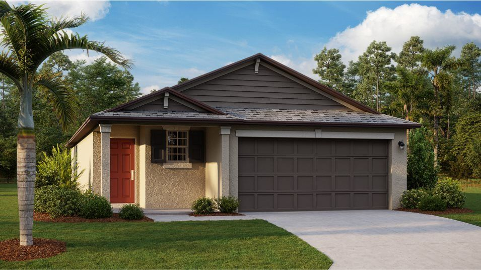 Move In Ready New Home In Touchstone - The Estates Community