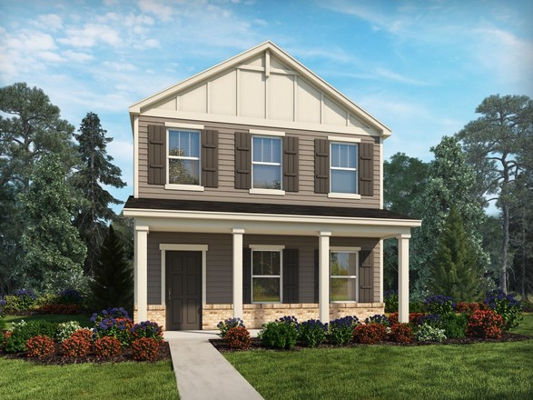 Move In Ready New Home In Amberley - The Promenade Series Community