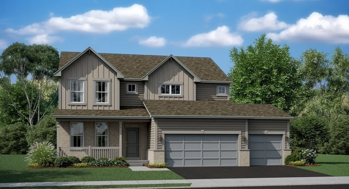 Move In Ready New Home In Woodlore Estates - Single Family Community