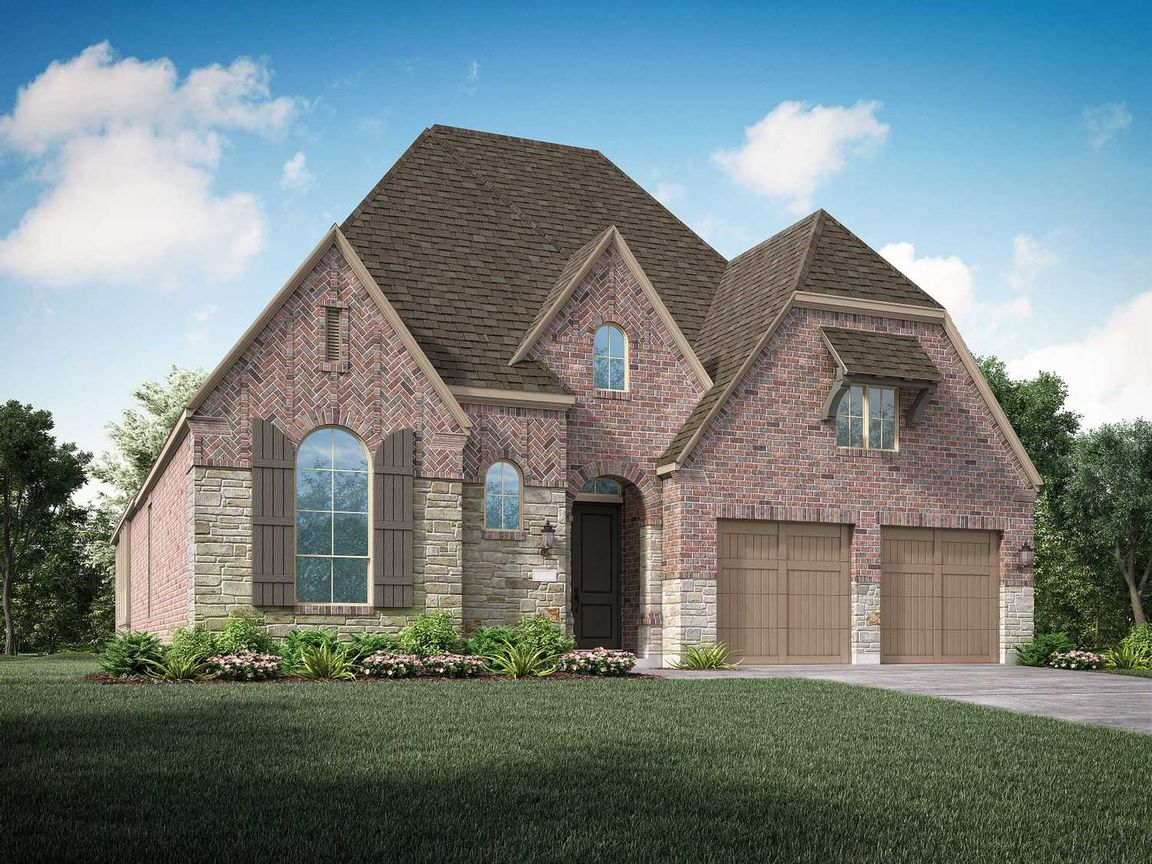 Move In Ready New Home In Elyson: 55ft. lots Community