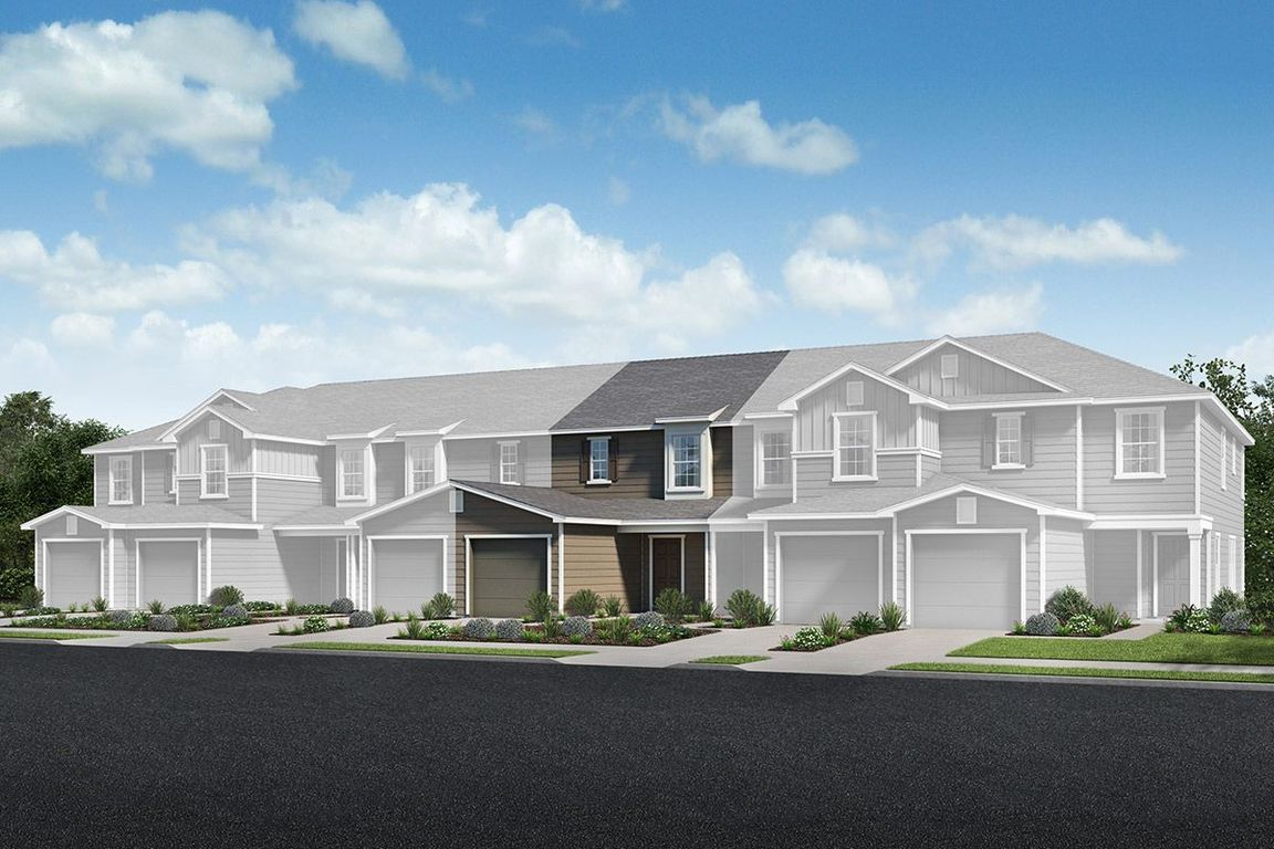 Move In Ready New Home In Orchard Park Townhomes Community