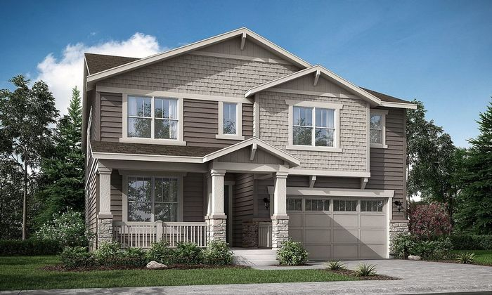 Move In Ready New Home In Wild Rose - The Monarch Collection Community