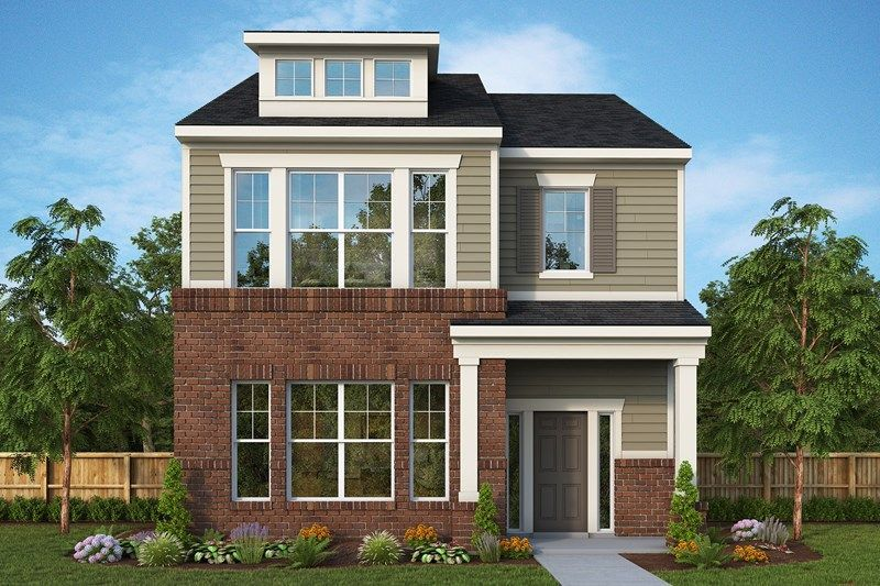 Move In Ready New Home In The Residences at Lawrence Village at the Fort Community