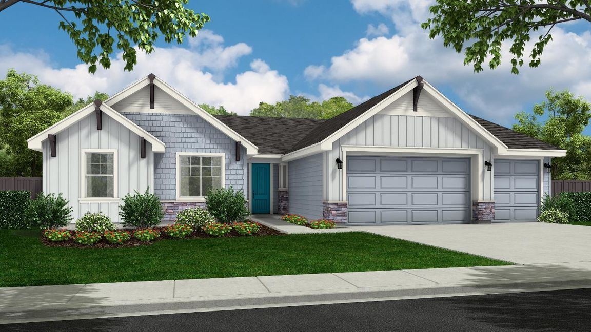 Move In Ready New Home In Sterling Ranch - Woodland Community