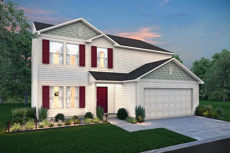 Move In Ready New Home In Robins Nest Community