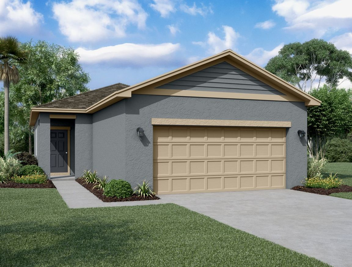 Move In Ready New Home In Lincoln Oaks Community