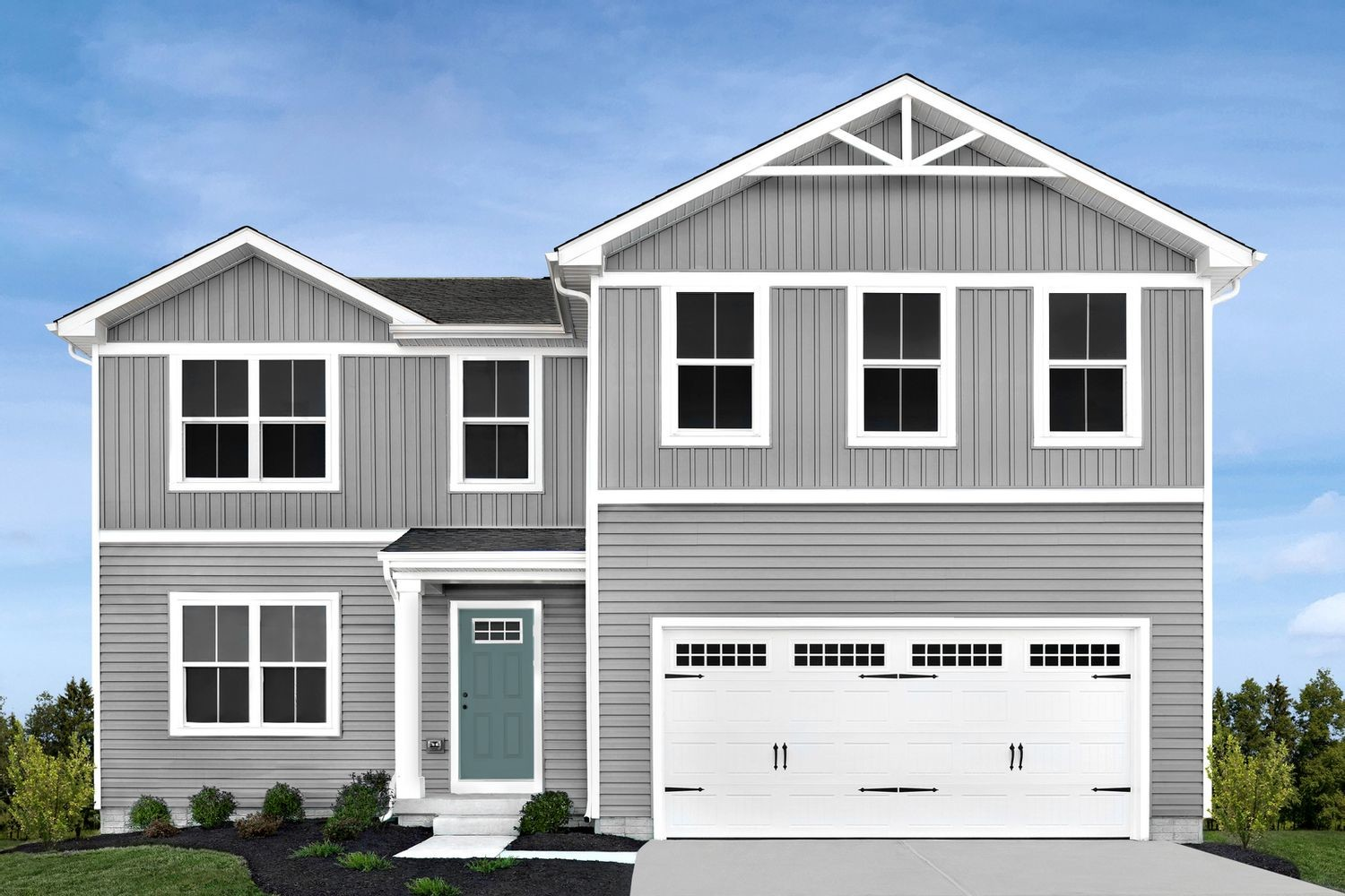 Ready To Build Home In Woodside Park Community