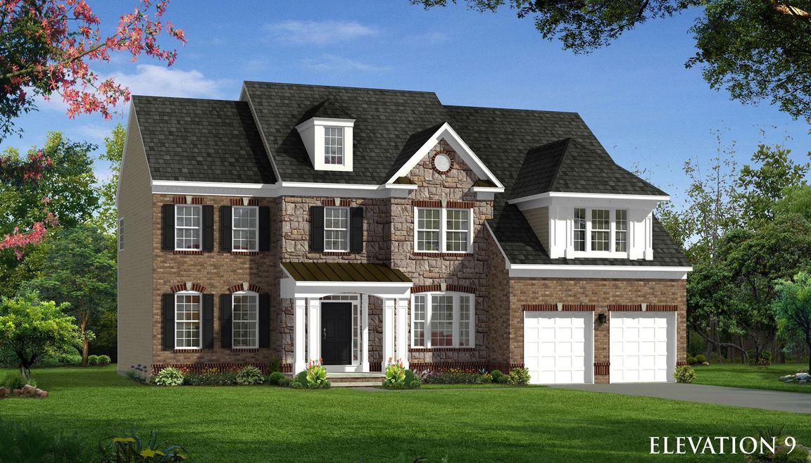 Ready To Build Home In Stone Mill Single Family Homes Community