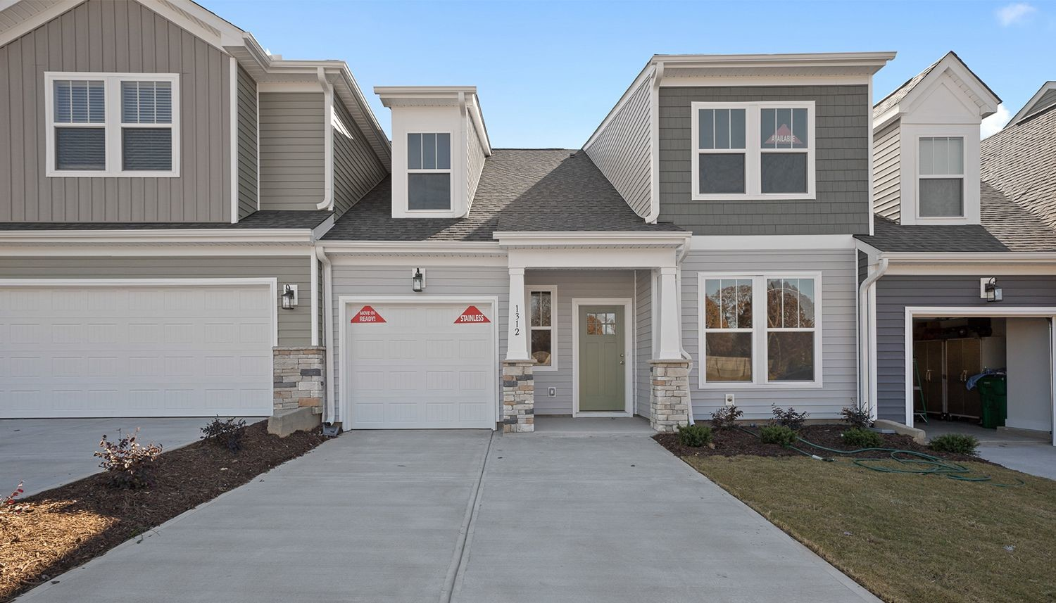 Move In Ready New Home In Peachtree Townes Community