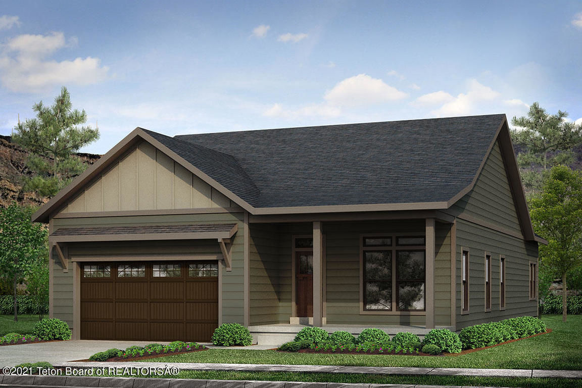 1648 SqFt House In Red Hawk At Teton Reserve
