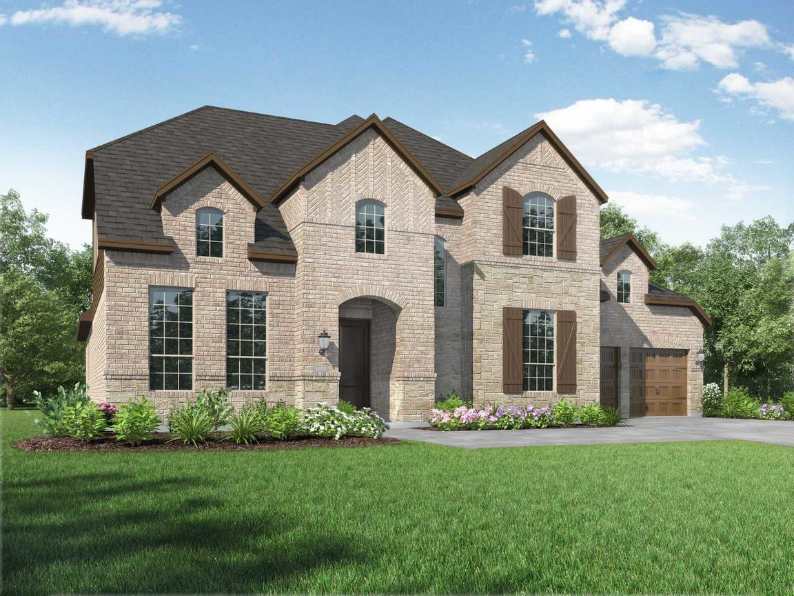 Ready To Build Home In M3 Ranch: 70ft. lots Community
