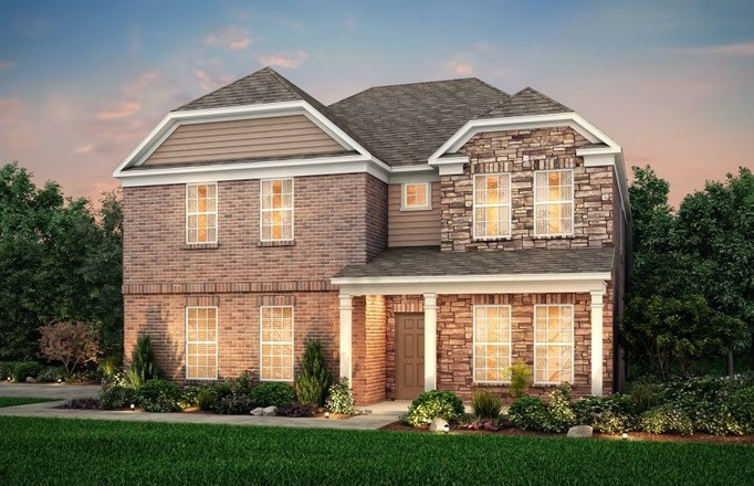 Move In Ready New Home In Norman Creek Community