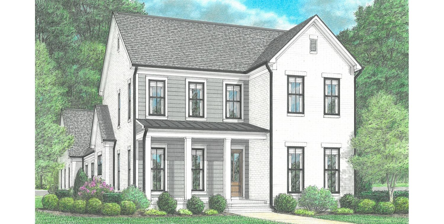 Ready To Build Home In Lafayette Station Community