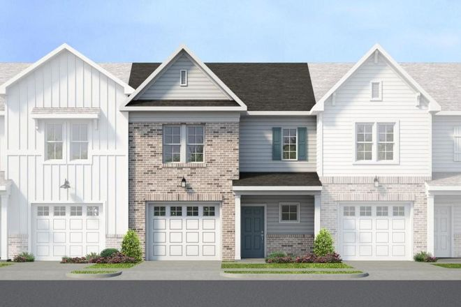 Move In Ready New Home In IronBridge Townhomes Community