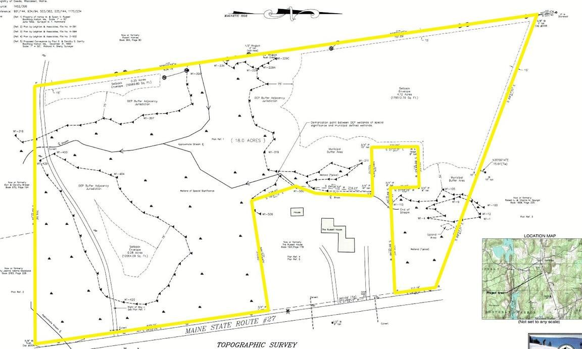 Lot In Boothbay Harbor
