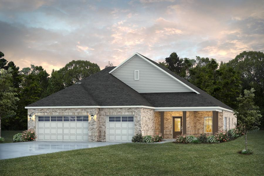 Move In Ready New Home In McClain Landing Community