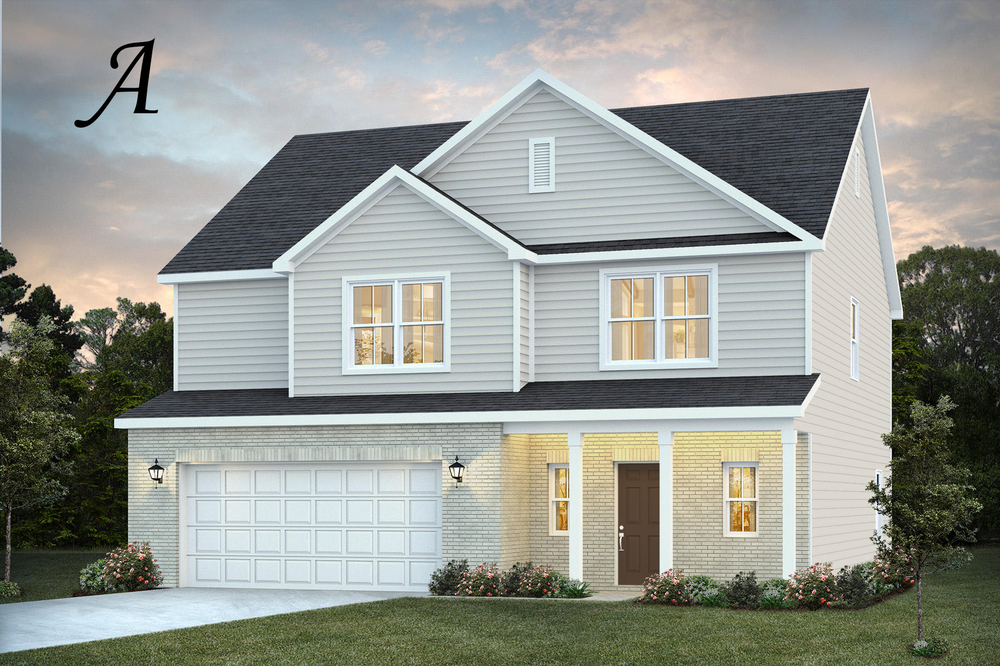 Ready To Build Home In The Cove at Towne Lake Community
