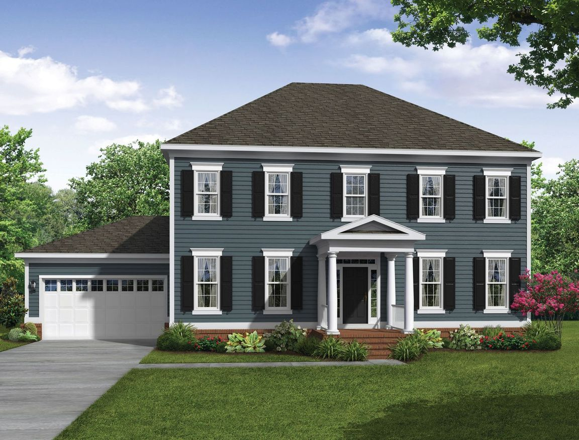 Ready To Build Home In Greenleigh - Villas Community