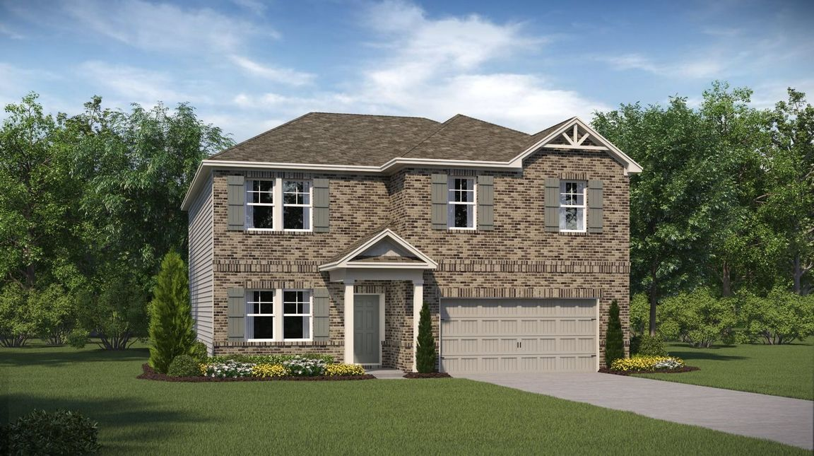 Ready To Build Home In Heritage Point Community