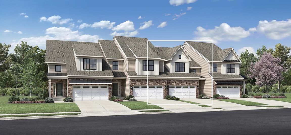 Move In Ready New Home In Franklin Station - The Carriages Collection Community