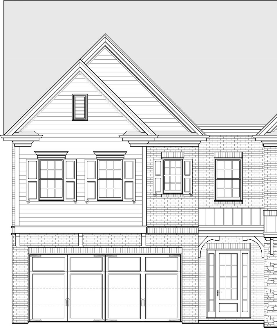 Ready To Build Home In Mountain Walk Townhomes Community