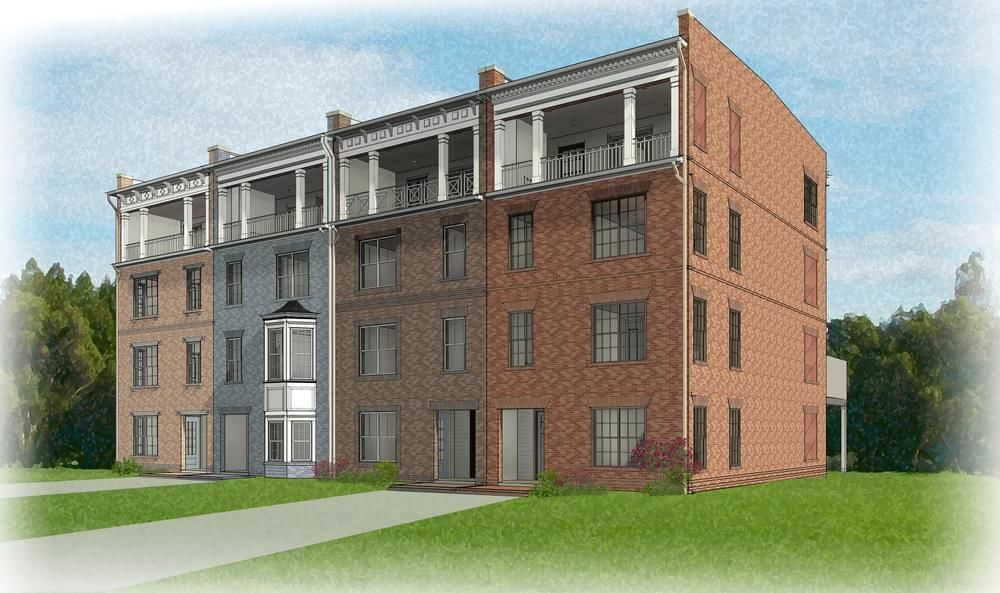 Ready To Build Home In West Broad Village Community