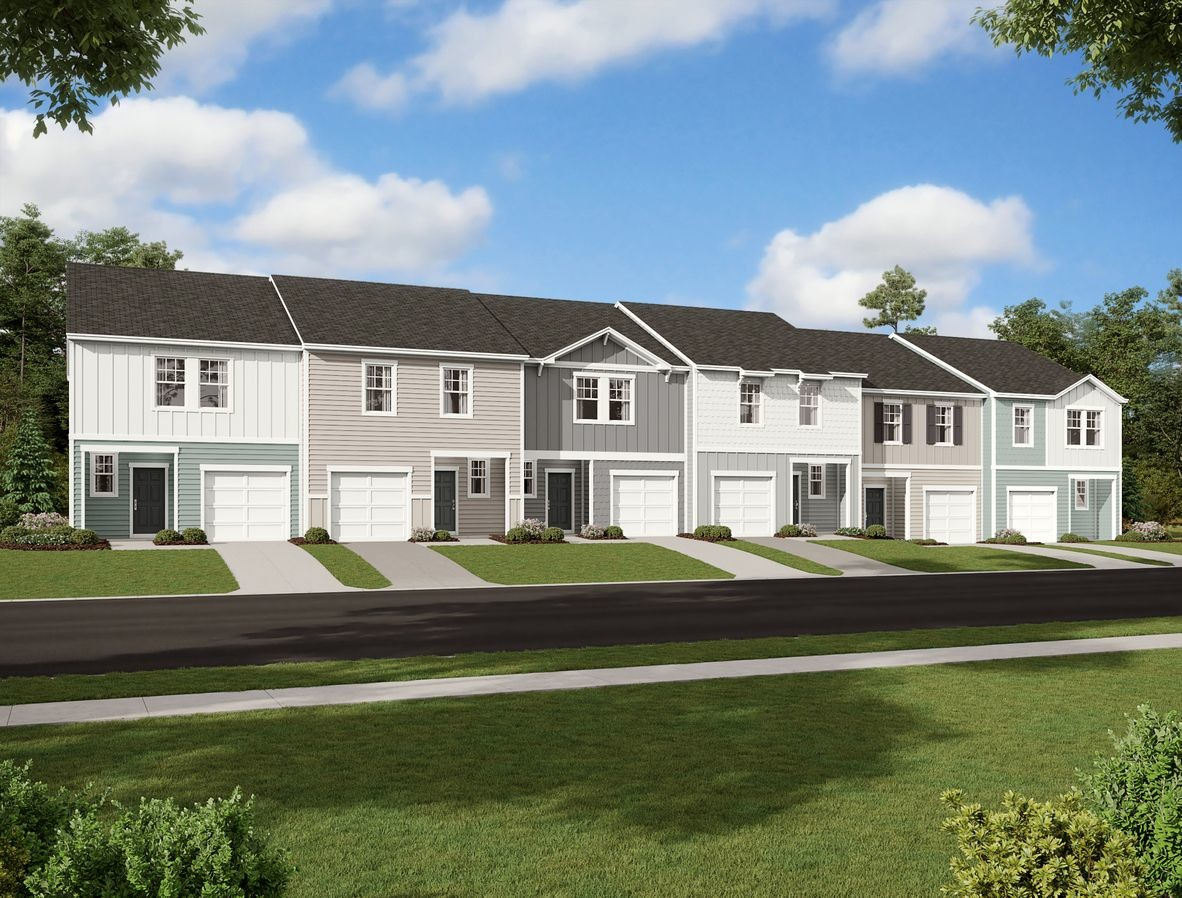 Move In Ready New Home In Parkway Station Community