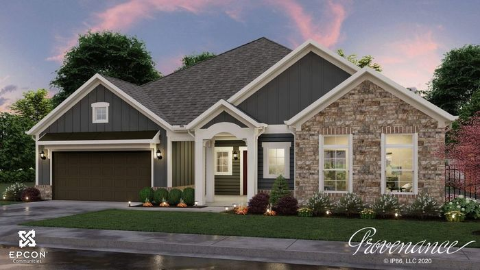 Ready To Build Home In The Courtyards at Mint Hill Community